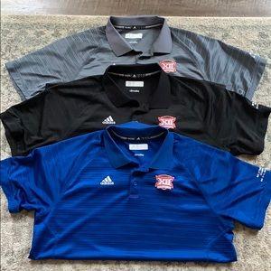 Adidas Climalite Collar Shirts - Lot of 3!